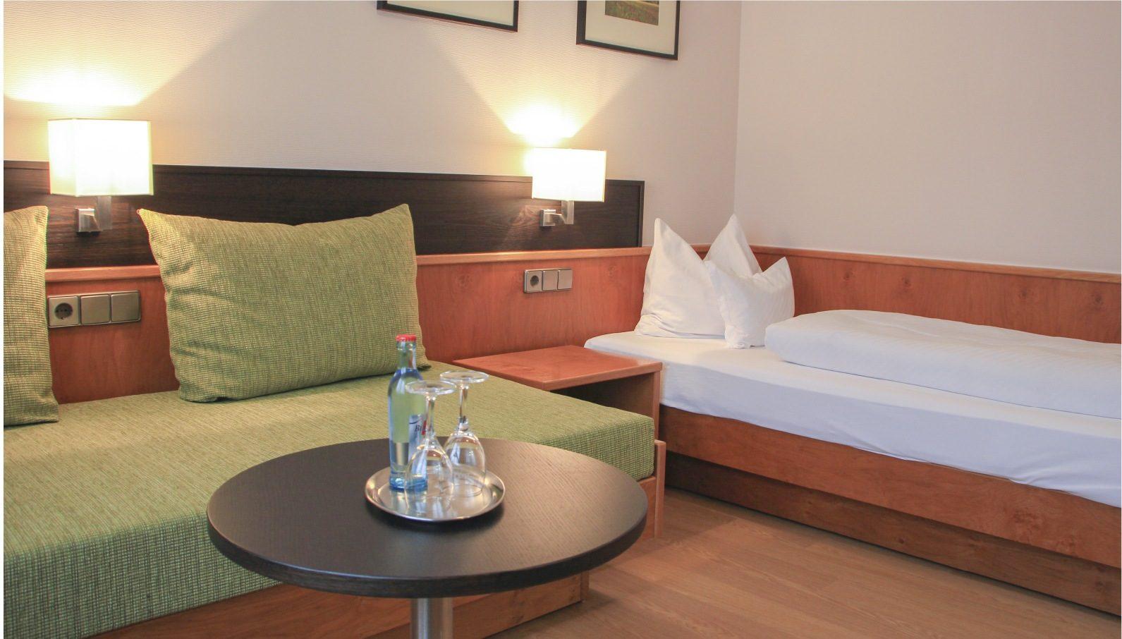 Einzelzimmer Kategorie 1 Bett