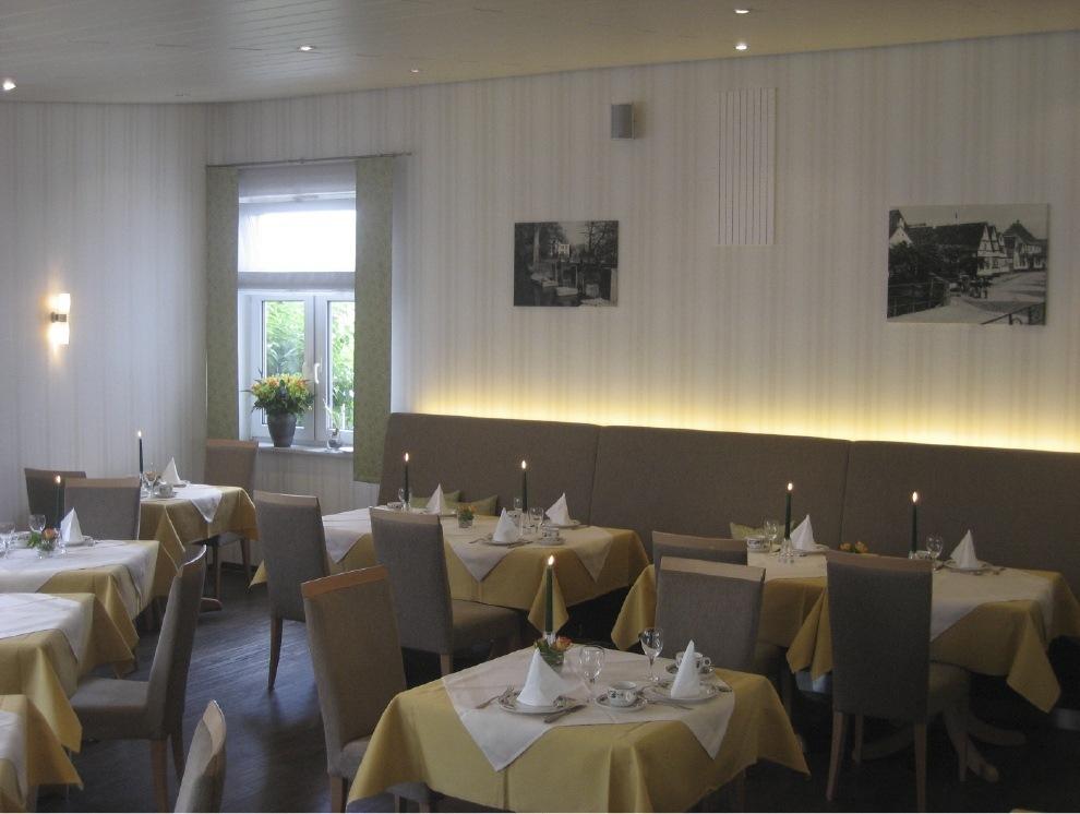 Der Frühstücksraum in Lindner's Hotel