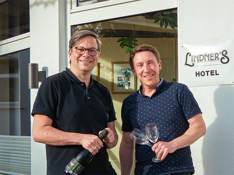 Michael Leuthner (links) und Lars Lindner (rechts)